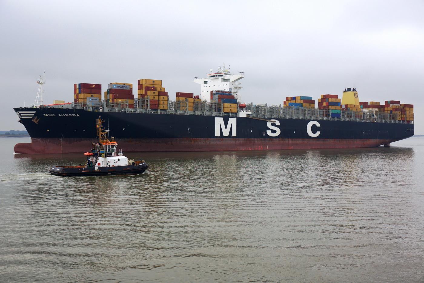 Jedan od kontejnerasa kompanije MSC za koju plove brojni nasi pomorci