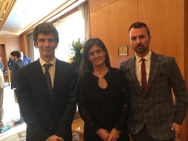 Predstavnici Lustica Developmenta i Porto Montenegra sa Pocasnim konzulom Crne Gore u Milanu Dolly Predović na Forumu