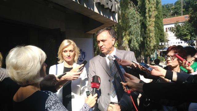 Vujanović sa novinarima