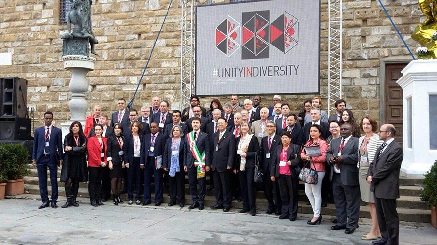 """Samit gradonačelnika """"Ujedinjeni u različitosti"""" – Firenca"""