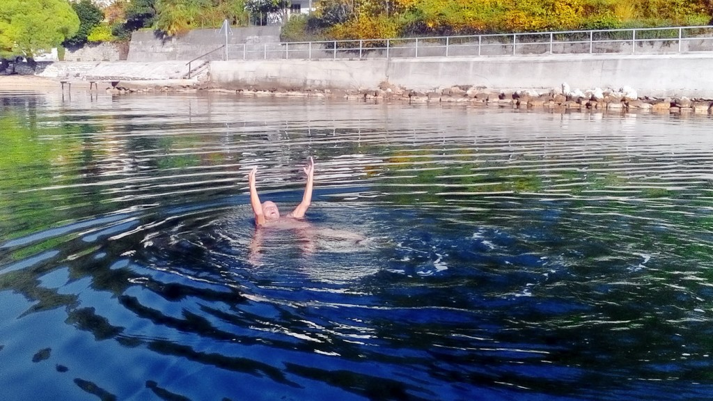 Kupanje u novembru