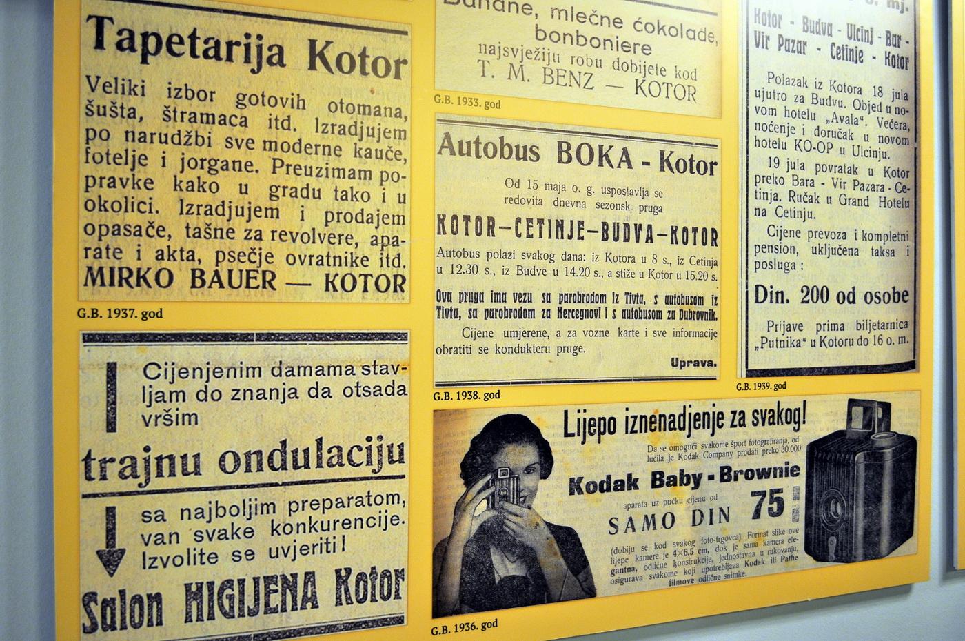 Izložba reklame i oglasi
