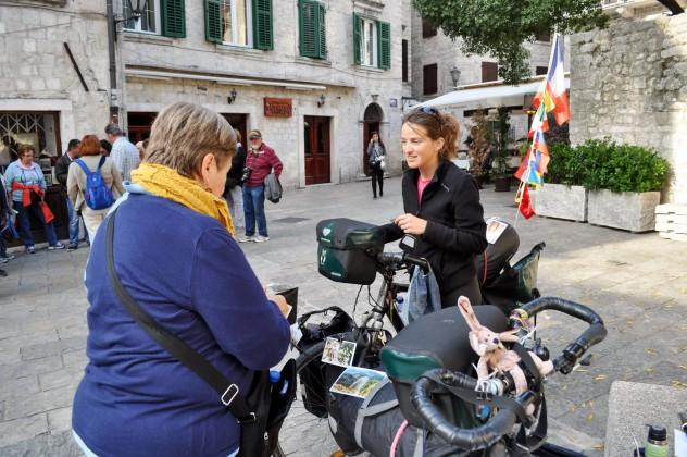 Biciklom na put oko svijetaClémence i Andrés Fluxa