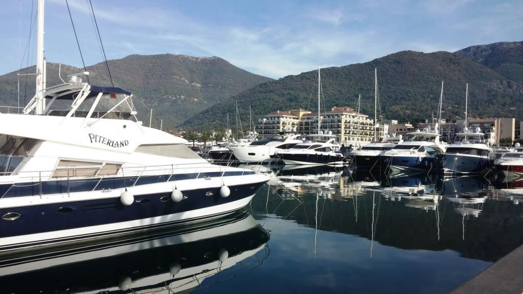 Iz Porto Montenegra, marine Pitera Manka