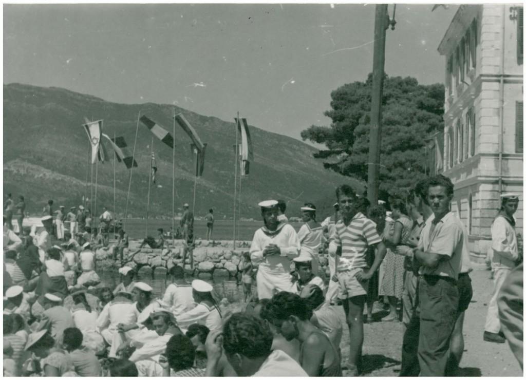 Sa Jadranskog padobranskog kupa 1959