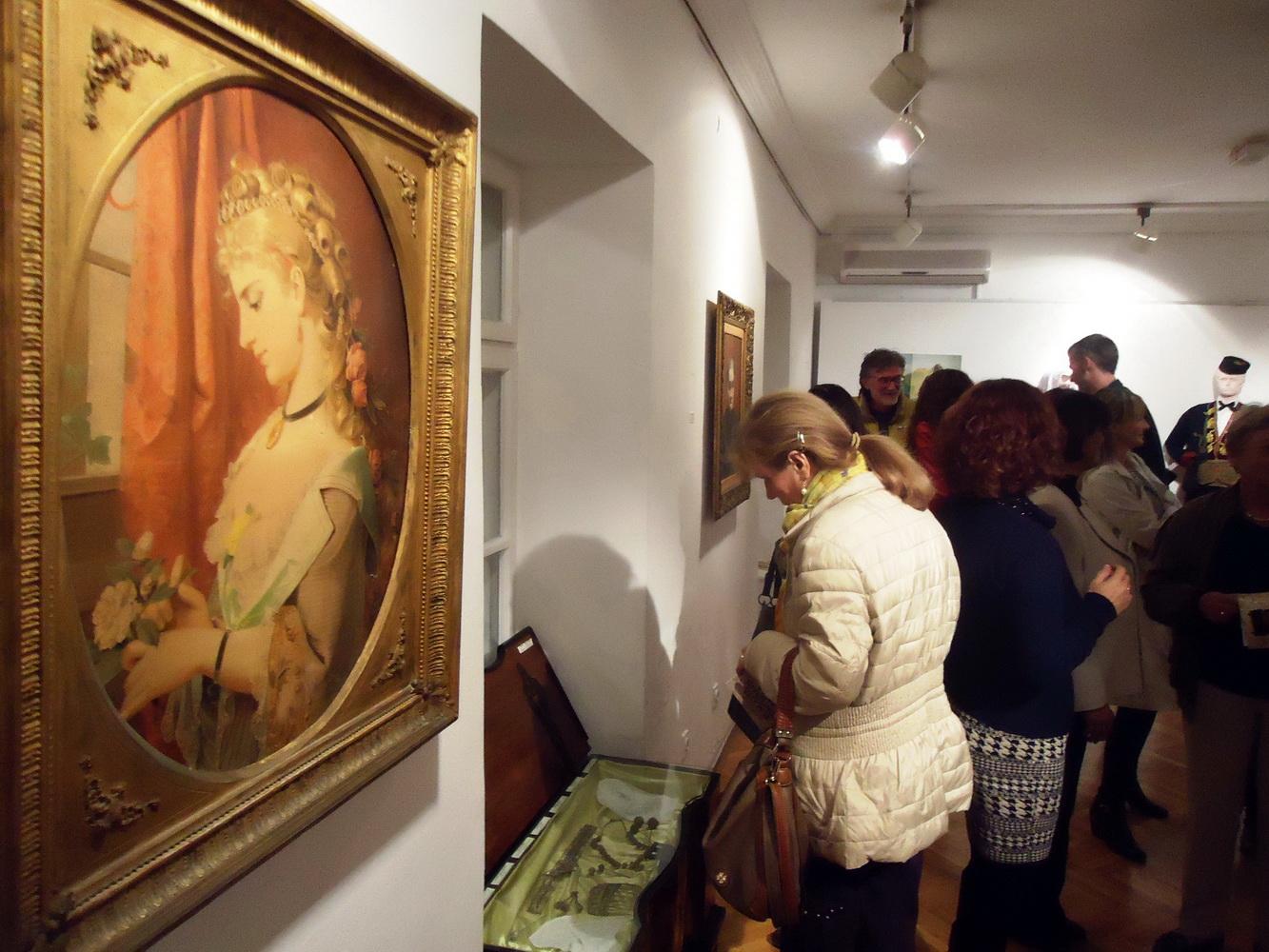 Sa otvaranja izložbe