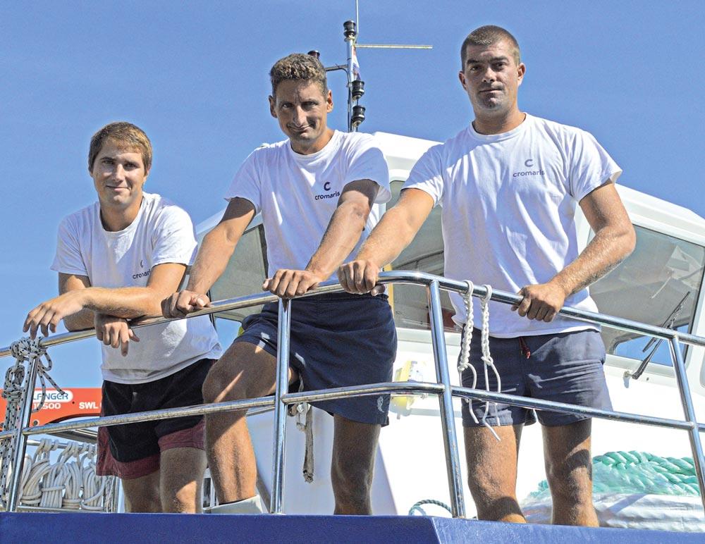 Trojica od 6 hrabrih iz Cromarisa