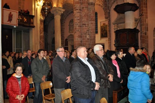 Ponoćka u katedrali 2015. - Kotor