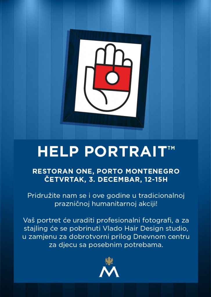 Help Portrait flyer MNE