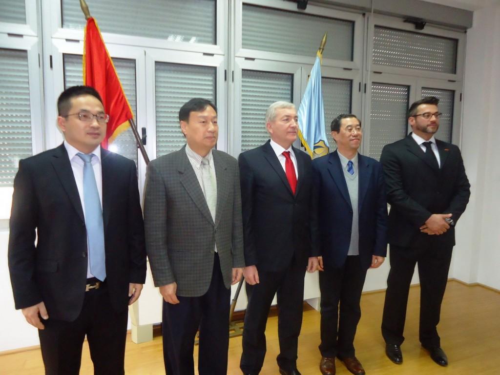 Novosel i Hadžic sa gostima iz Kine