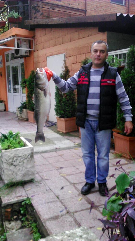 OKTOBAR - drugo mjesto - Srećko Andričić brancin 7.5kg