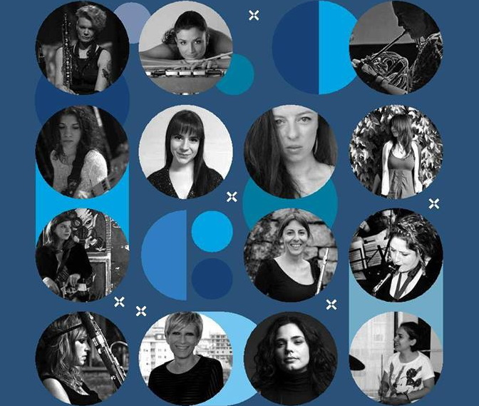 Plakat Žene Balkana u džezu