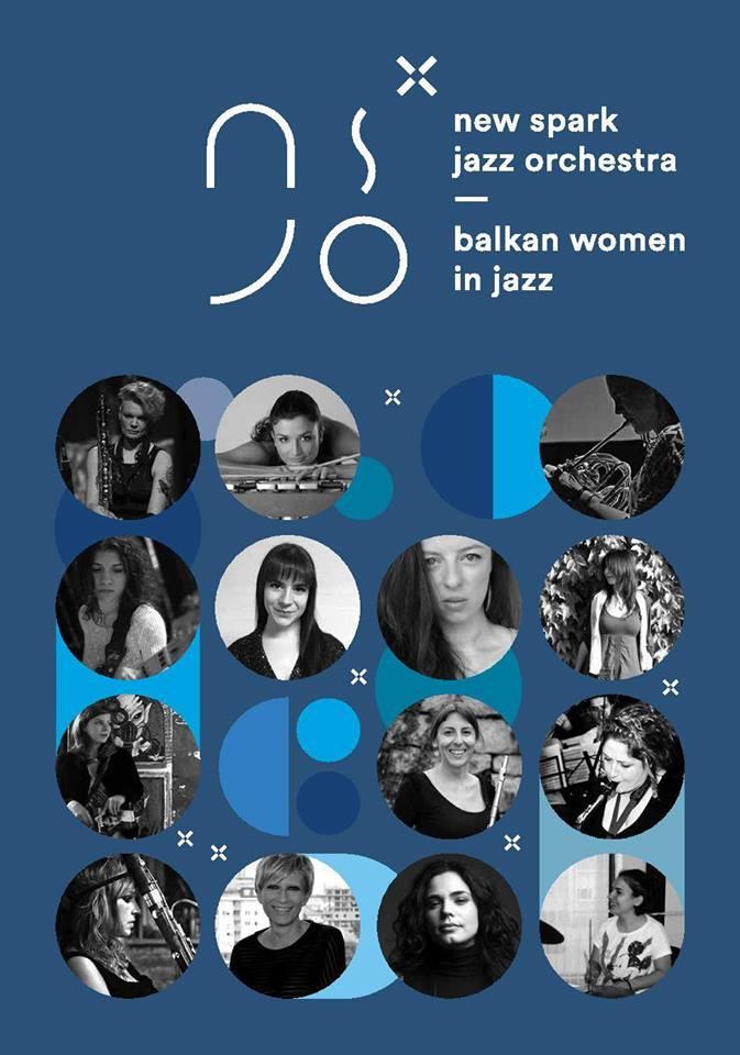 Plakat Žene Balkana u dzezu