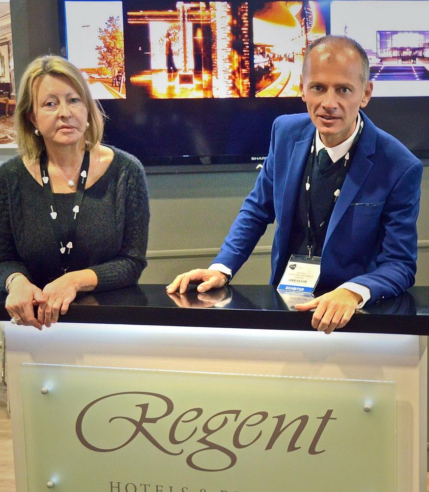 Stand hotela Regent Porto Montenegro ILTM Kan