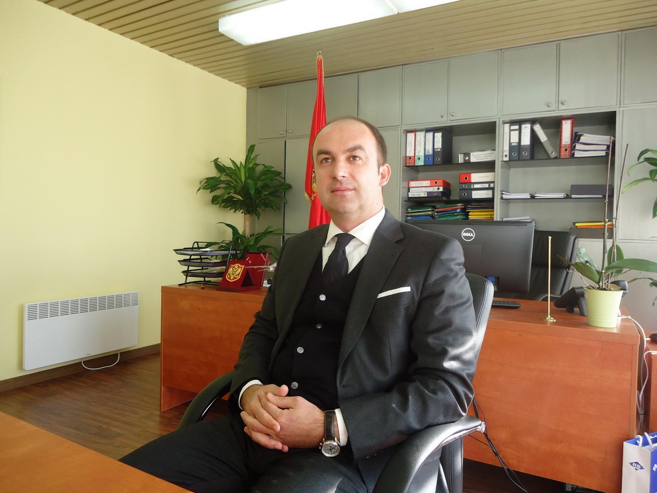 Direktor aerodroma Tivat Damir Pinjatić