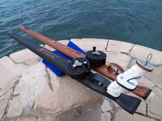 Gladijator - podvodne puške