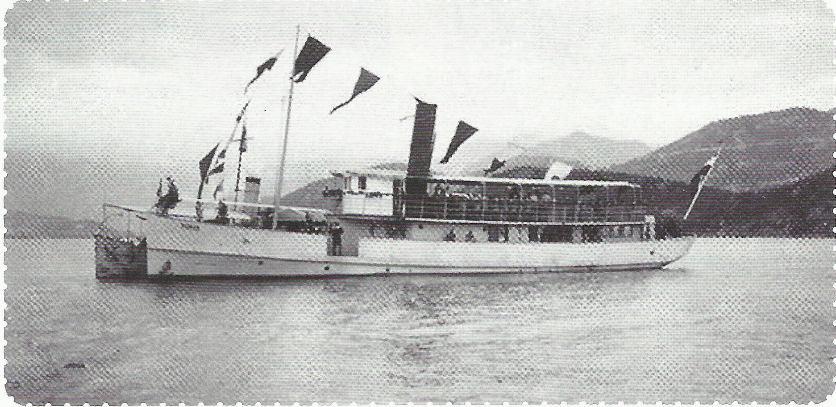 Parobrod Cetinje kao austrougarski Pionier