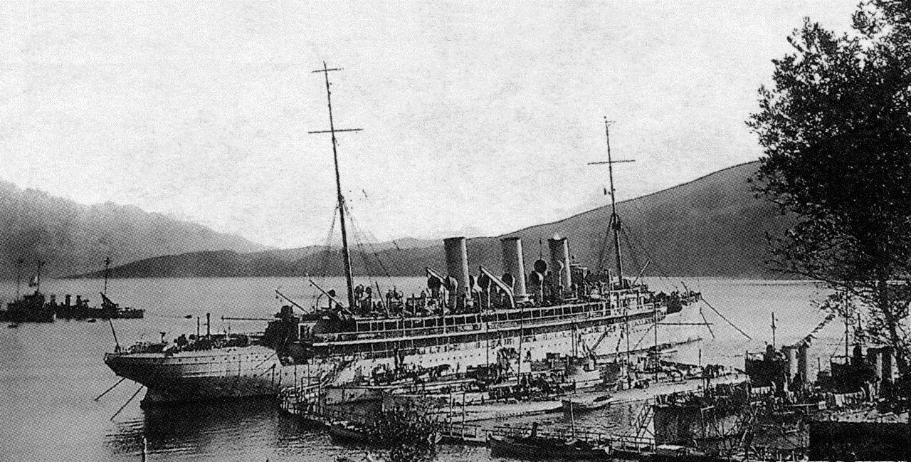 """Brod """"Gaa"""" i podmornice u Đenovićima"""