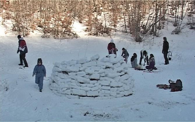 Gradnja igloa
