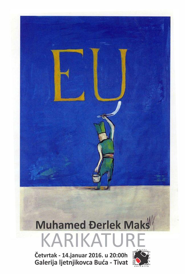 Maks Djerlek - plakat