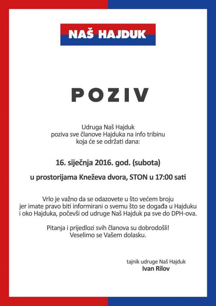 Naš Hajduk 2016.