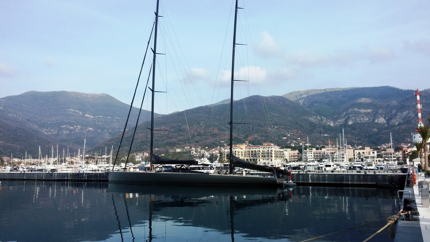 SAMURAI u Porto Montenegru