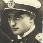 Vladeta Petrovic kao porucnik fregate