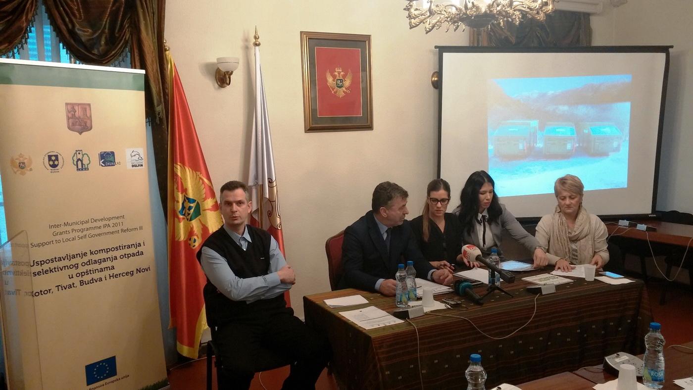 Sa prezentacije u Kotoru