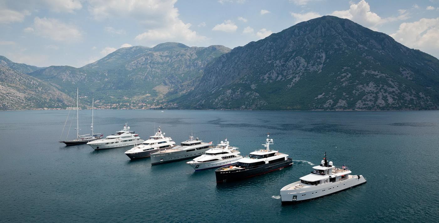 Sa proslogodisnjeg Superyacht Rendeyvousa u Boki Kotorskoj