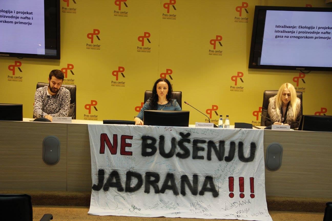 SOS za Jadran press Podgorica