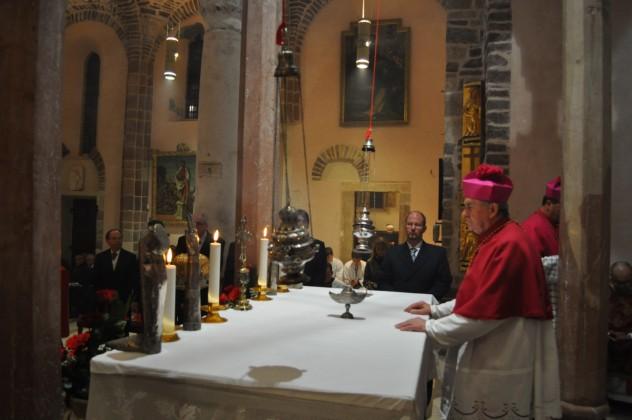 Kađenje moći Svetog Tripuna 2016.