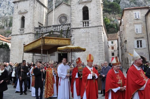 Vanjska proslava Svetog Tripuna 2016.