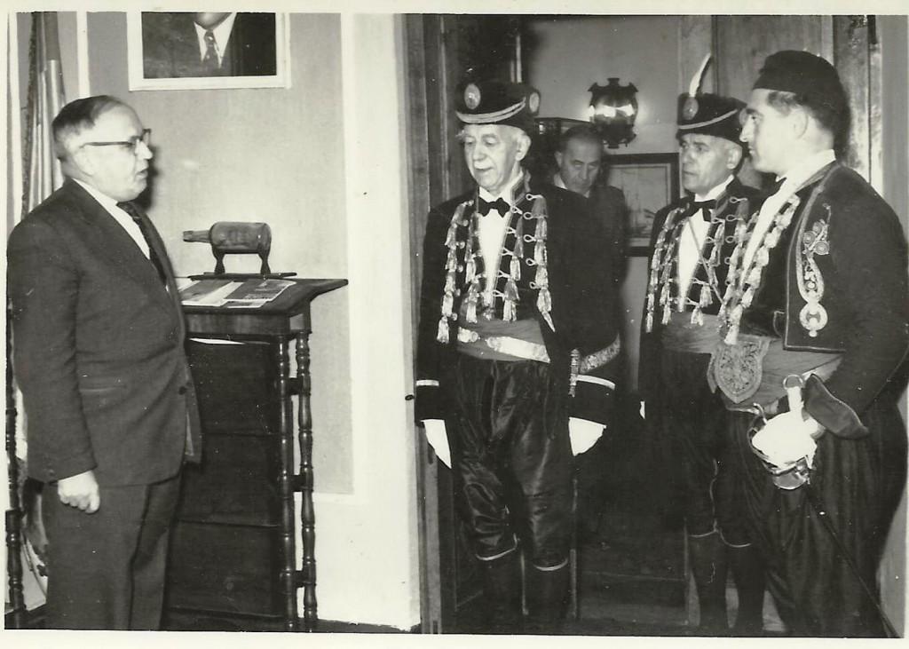 Đurko Radimir u odori majora Bokeljske mornarice 1961.