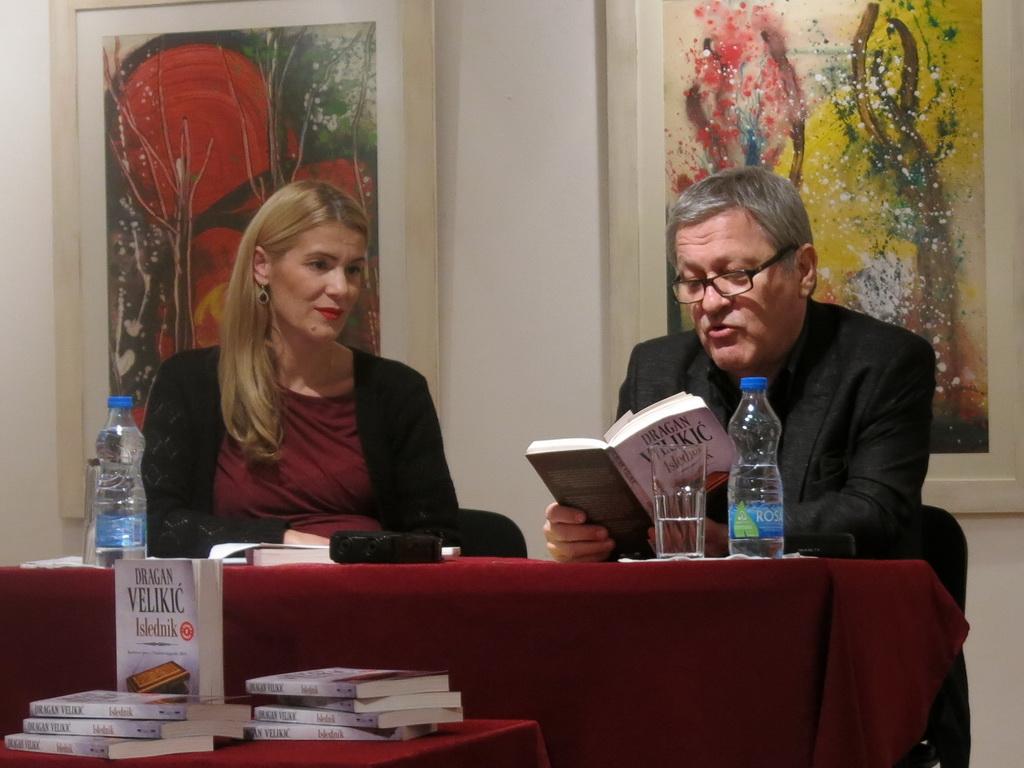 Književno veče Dragana Velikića u Tivtu