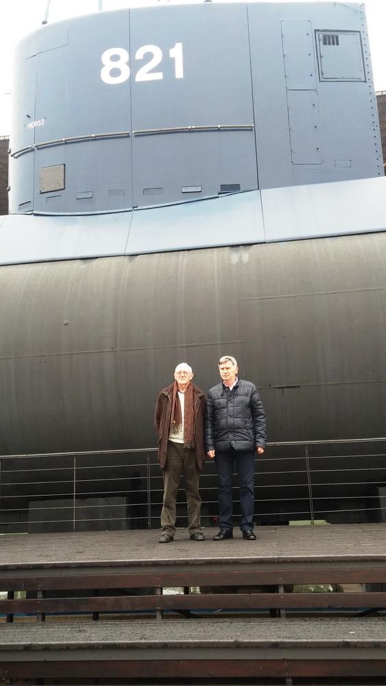 Korbar i Bulatovic ispred Heroja