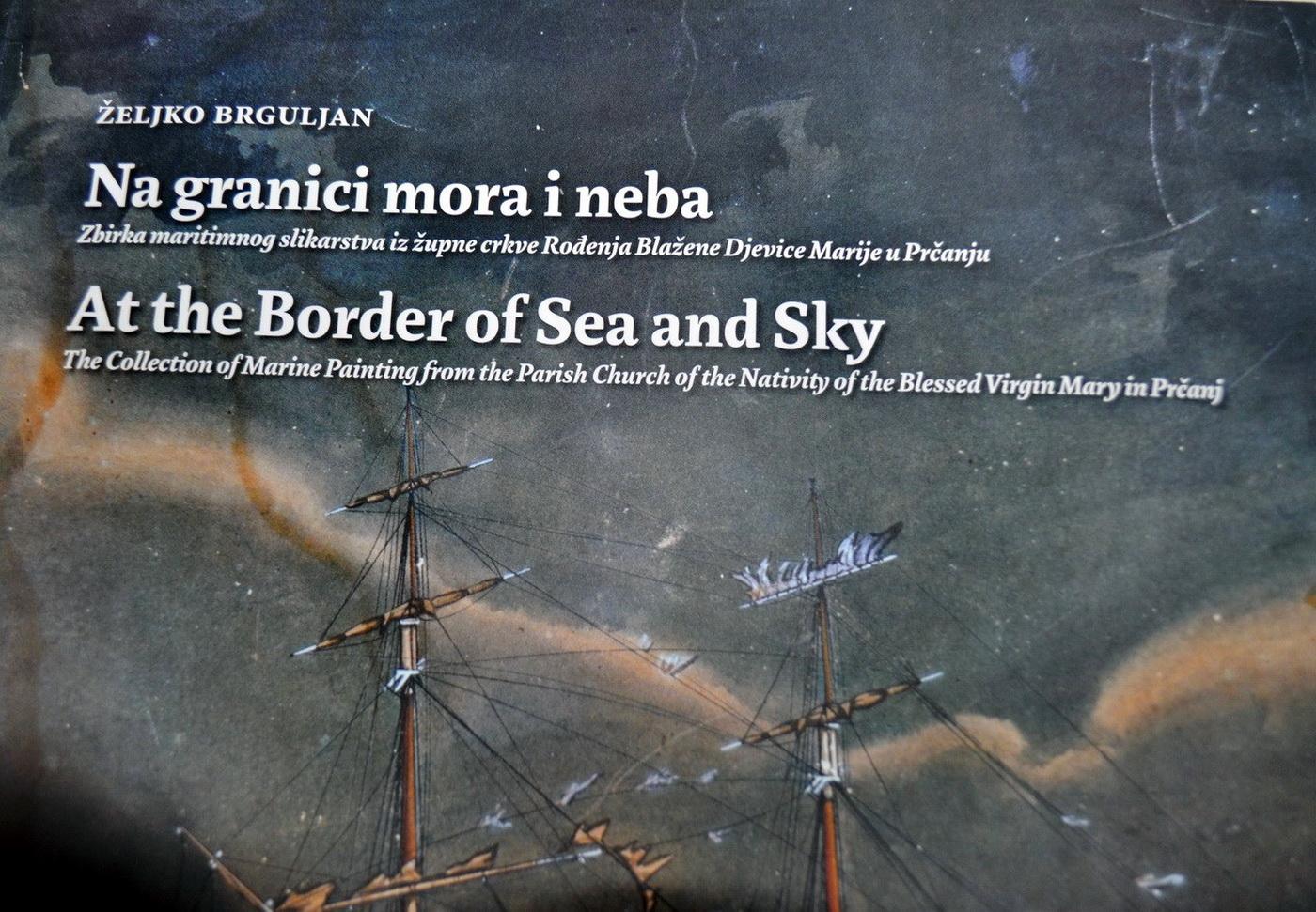Na granici mora i neba - naslovnica