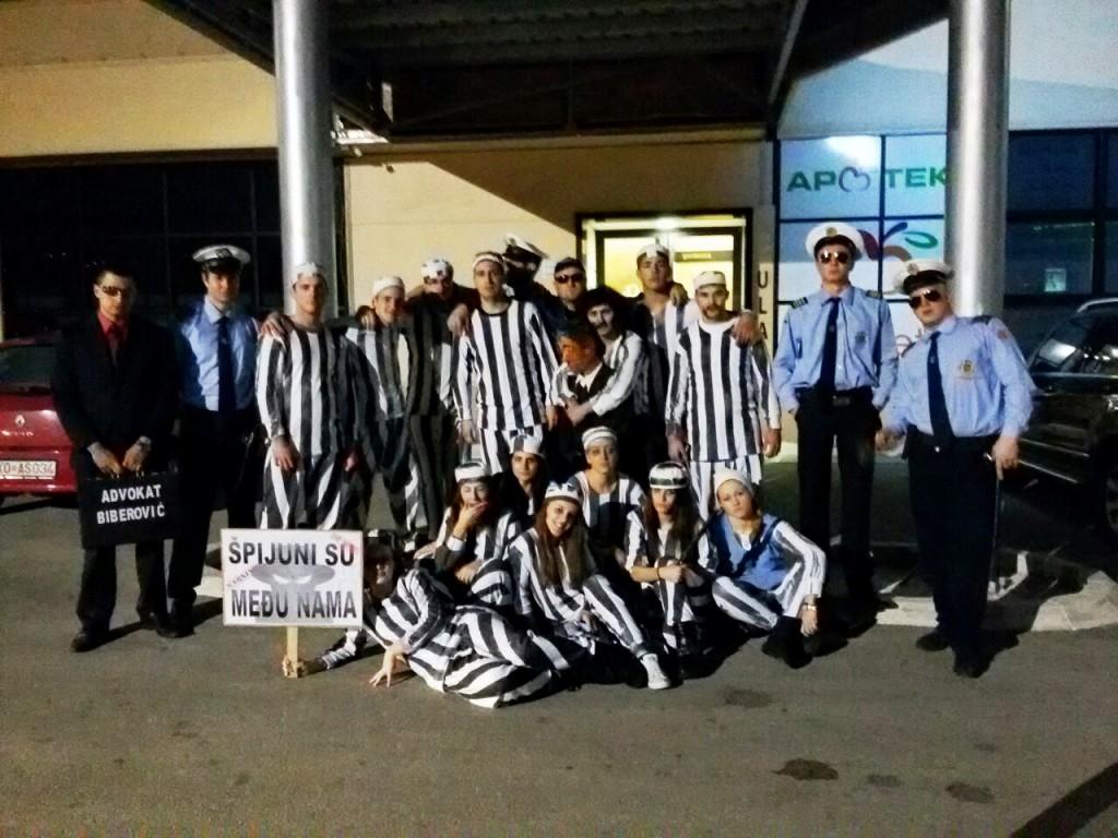 Spuškim zatvorenicima i policiji nema mjesta na karnevalu