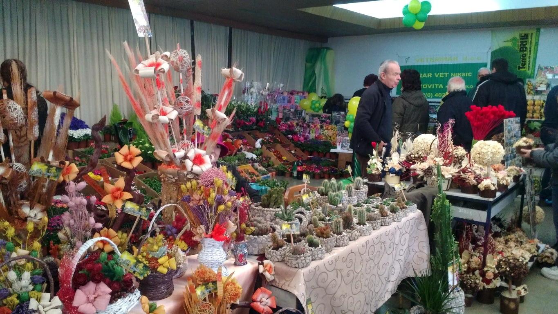 Otvorena Izložba cvijeća