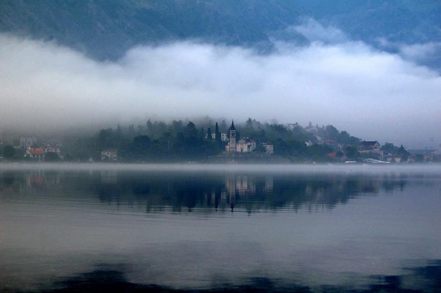 Izmaglica Boka Kotorska foto Z.N.