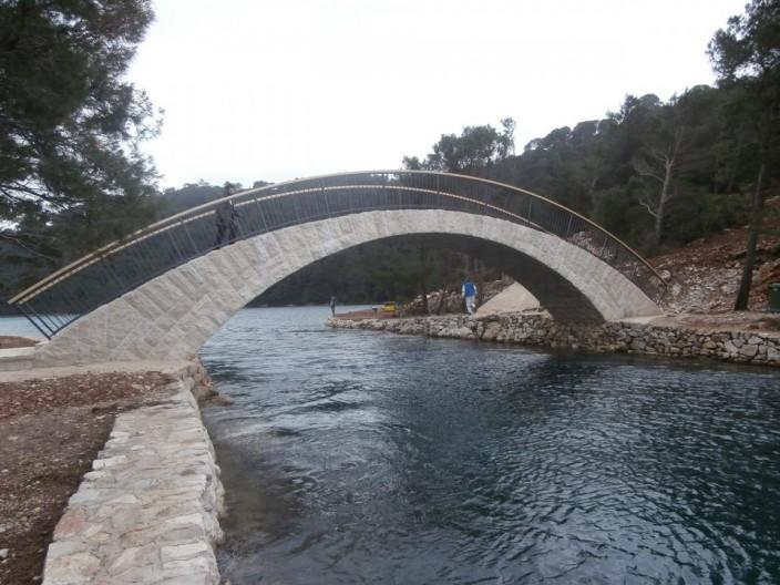 Most Mljet foto NP