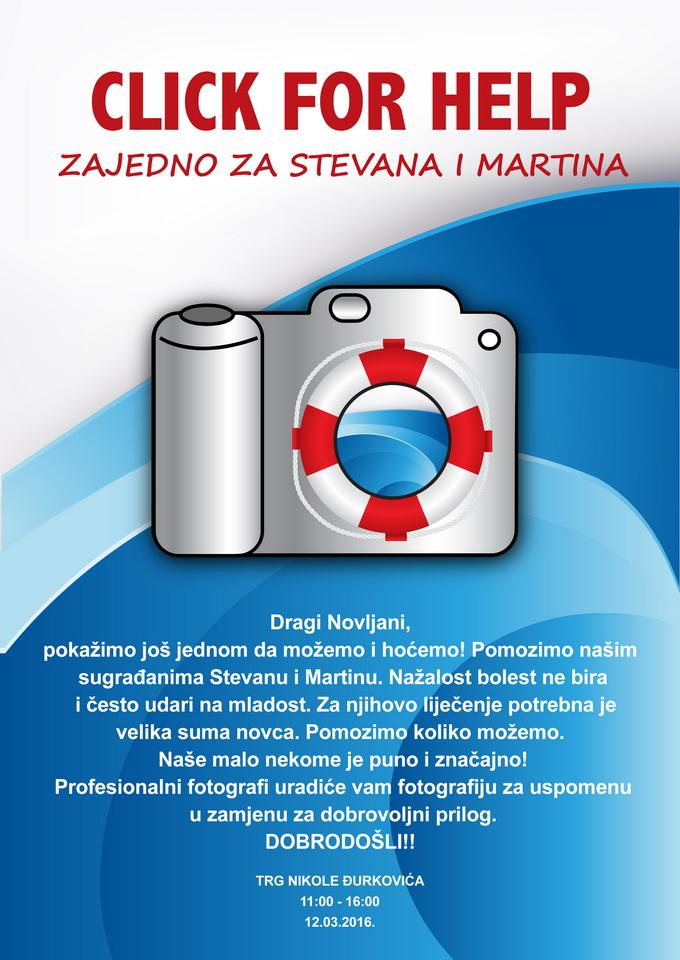 Click help plakat