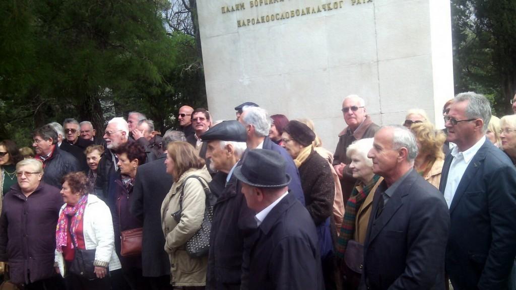 Članovi udruženja antifašista Dubrovnika u posjeti Herceg Novom