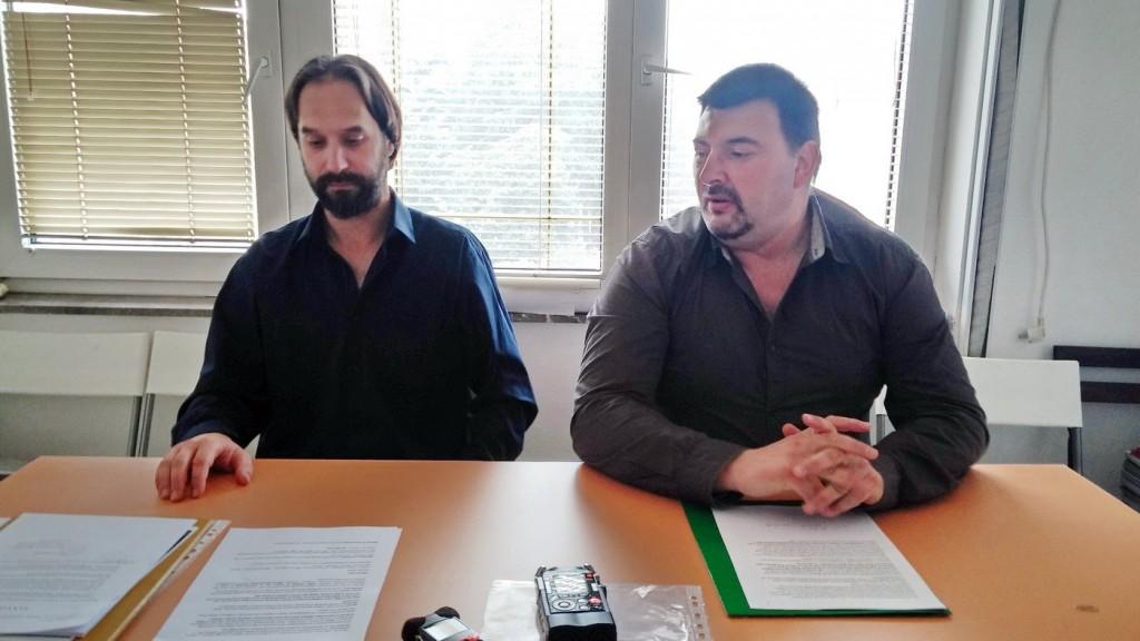 Kovacevic i Abovic na pressu