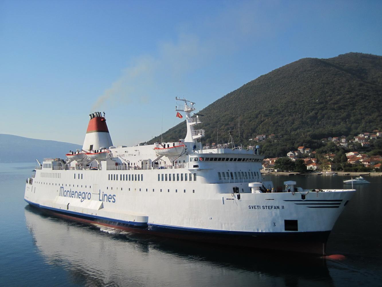 Trajekt SVETI STEFAN II kompanije Barska plovidba