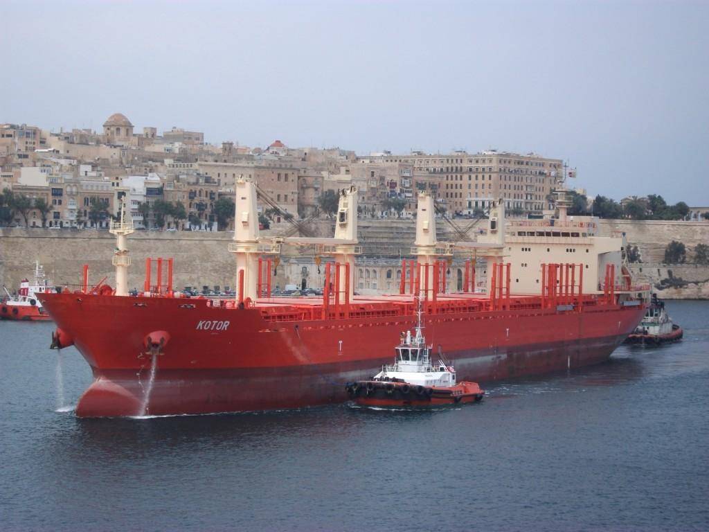 Brod KOTOR kompanije Crnogorska plovidba