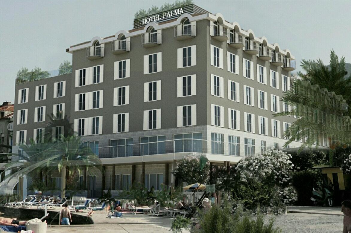 Hotel Palma finalni izgled