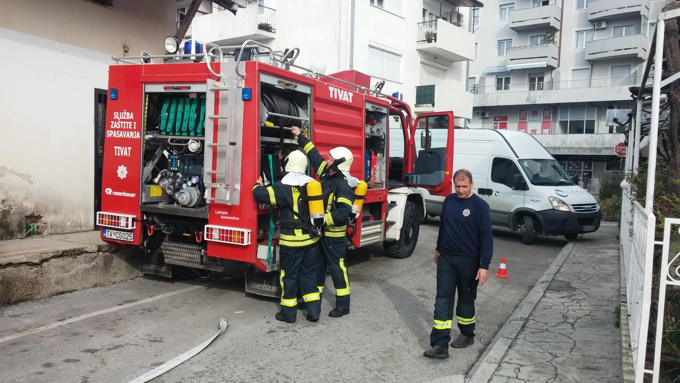 Tivatski vatrogasci svakodnevno vježbaju