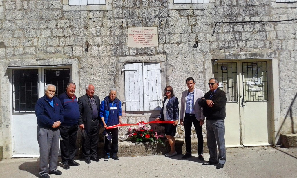 Delegacije Udruženja boraca NOR-a i antifašista Kotora