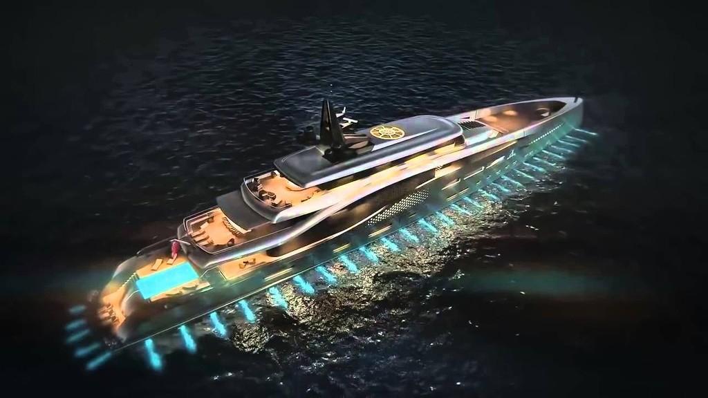 Superjahta Stiletto foto: www.oceancoyacht.com