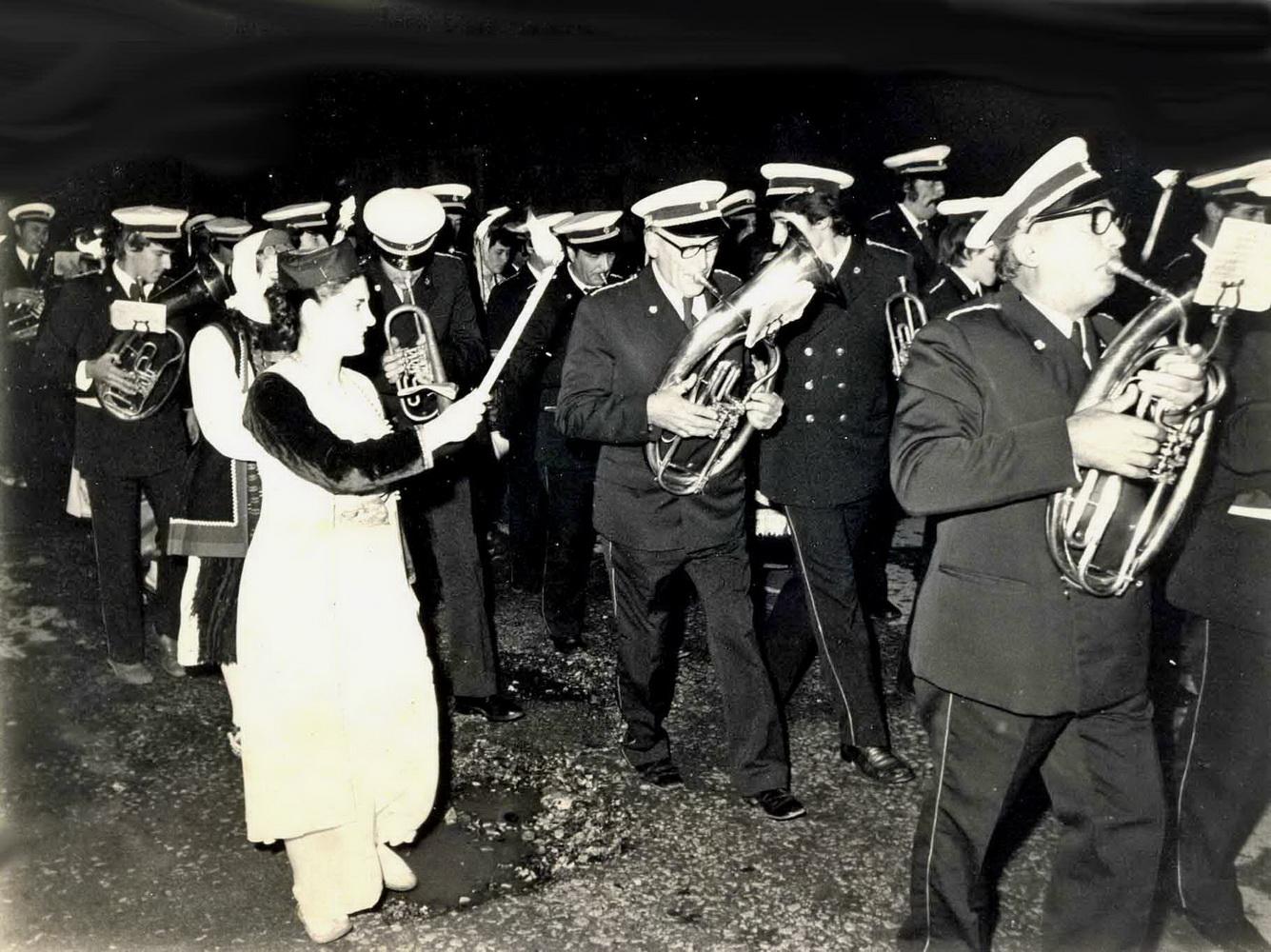76 Proslava 70 godina Gradske muzike Budva 22 11 1976 god.